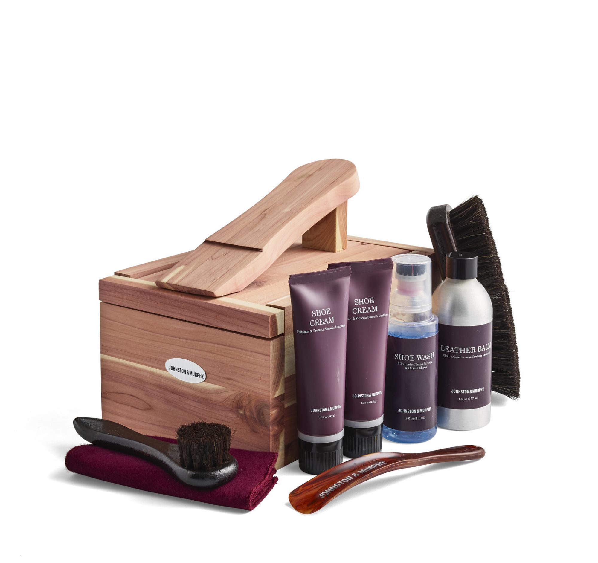 Cedar Shoe Care Kit | Johnston \u0026 Murphy