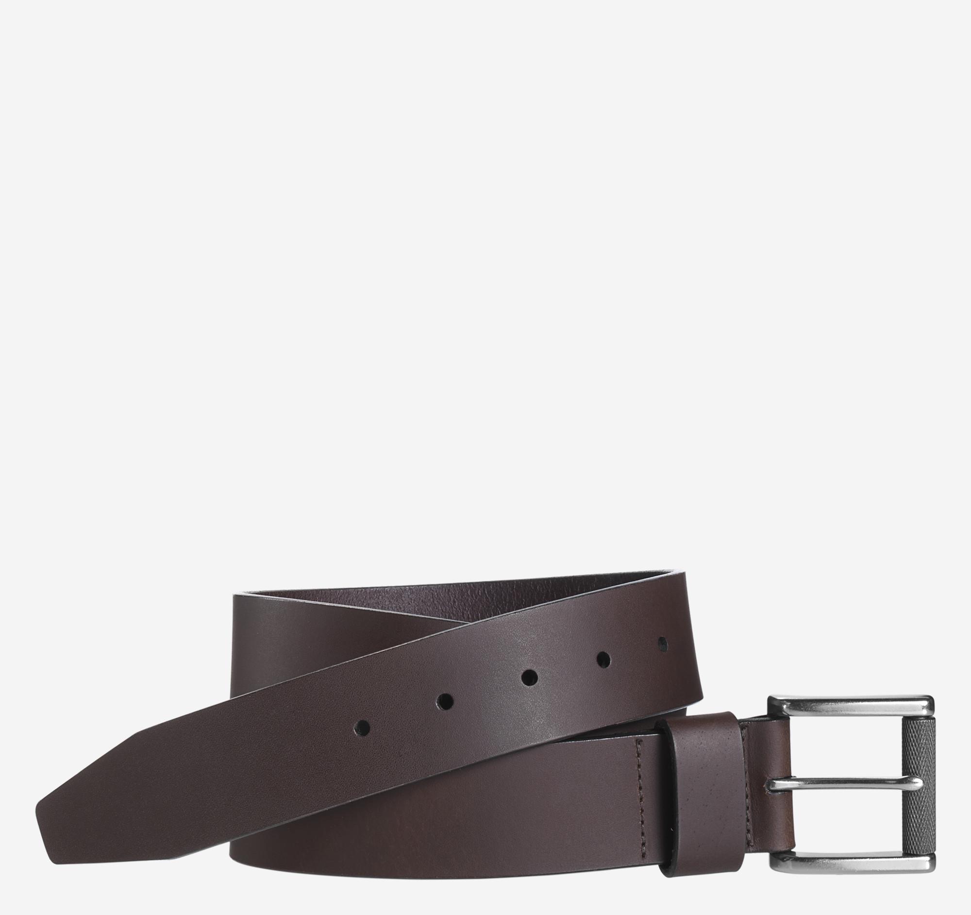 Johnston & Murphy Roller Buckle Belt
