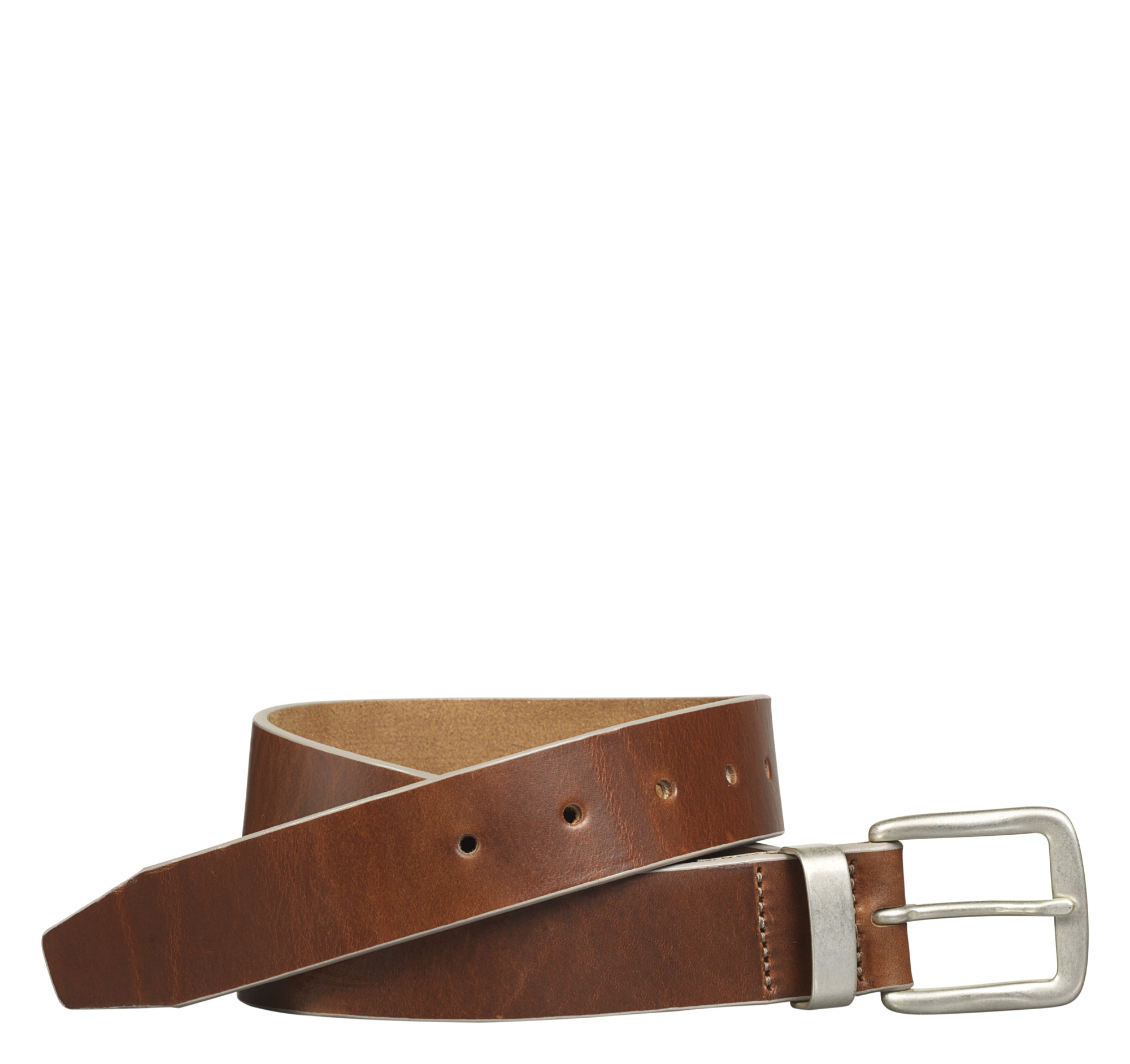 Johnston & Murphy Painted-Edge Belt