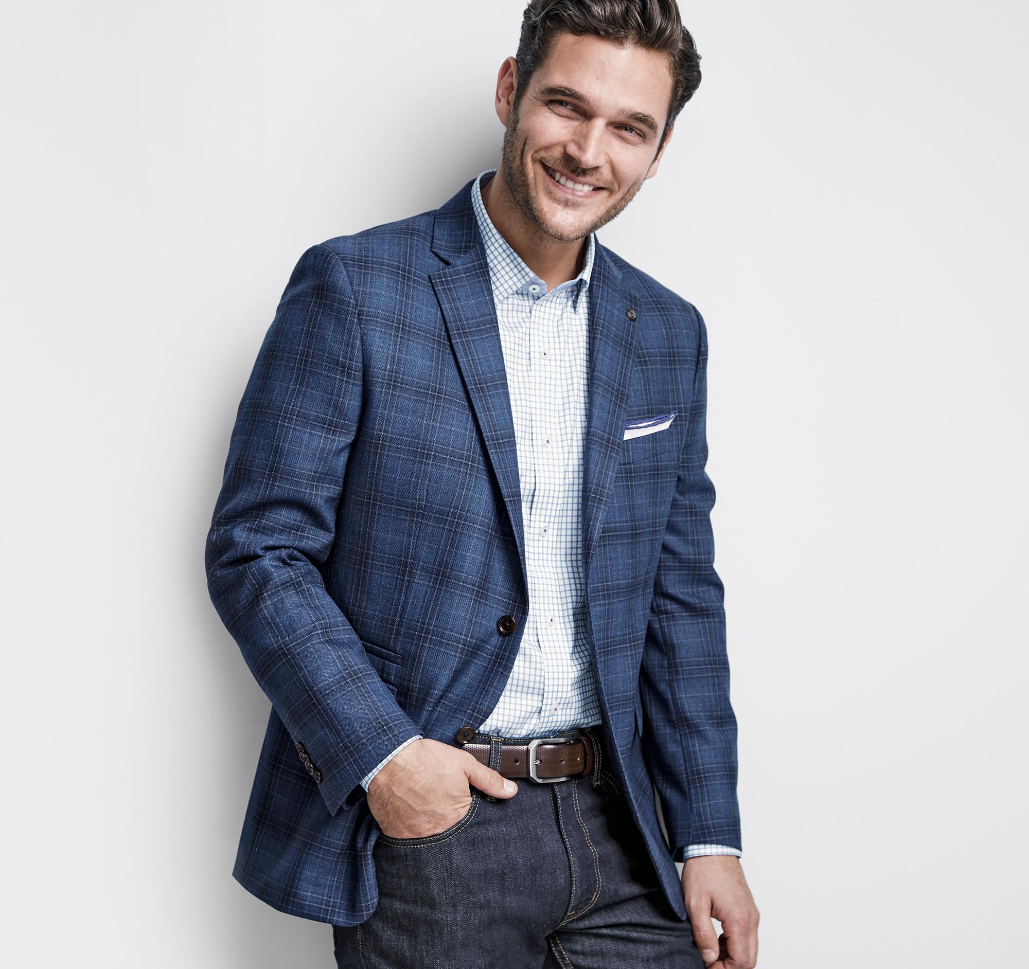 Chaps mens Quilted black navy Blazer Sport coat Jacket 38 42 44 46 48 NEW $ C $ C $ Shipping: + C $ Johnston & Murphy Mens 14 Shuler Bicycle Toe Black Leather Oxfords Shoe C $ C $ + Shipping. Men's CONNOISSEUR Brown Blue Plaid Suit Coat Wool Size 42R Blazer.