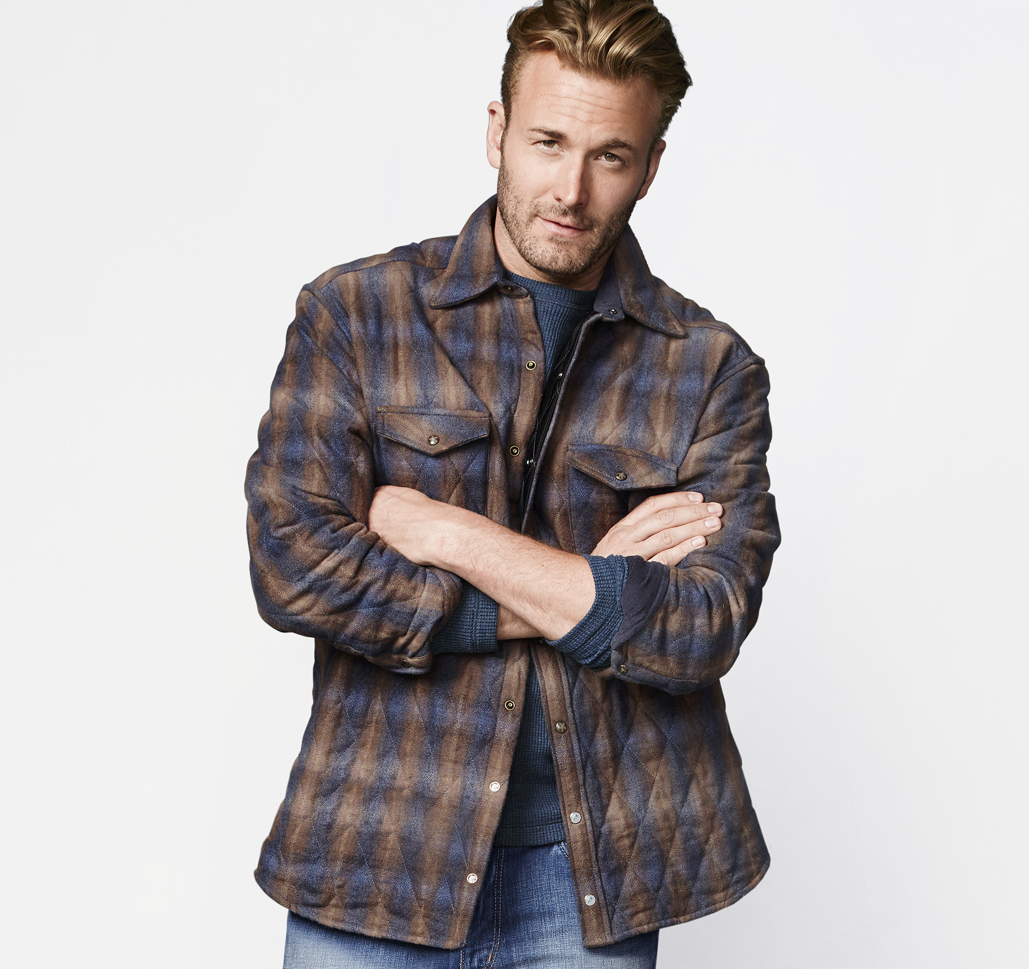 Quilted Shirt Jacket | Johnston & Murphy