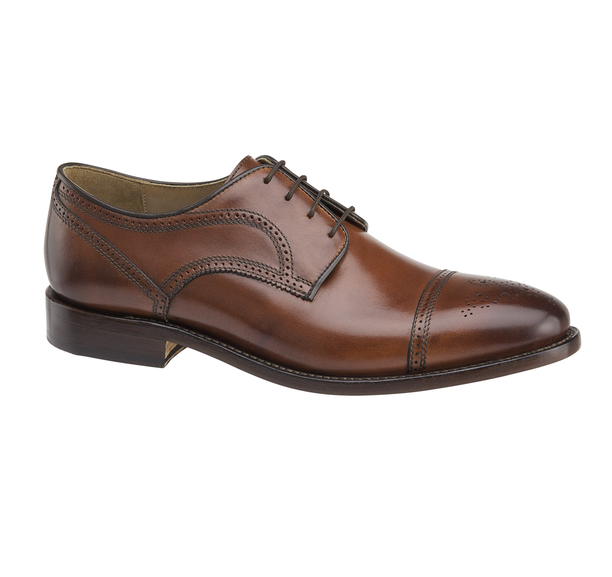Johnston & Murphy Men's Collins Cap Toe Oxford
