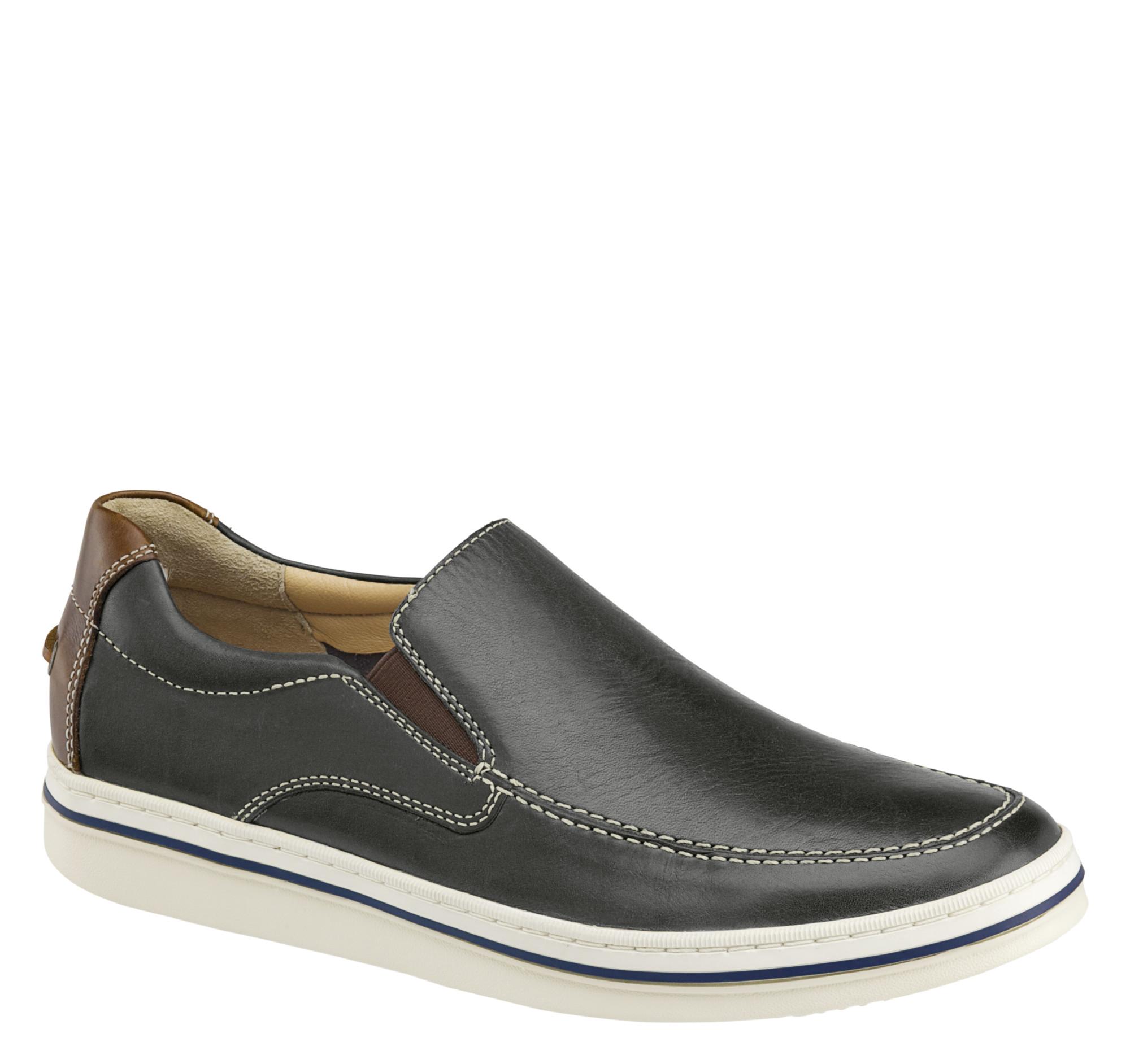Bowling Moc Venetian Johnston Murphy D Island Shoes Slip On Mocasine Casual Loafers Black Magiczoom Window