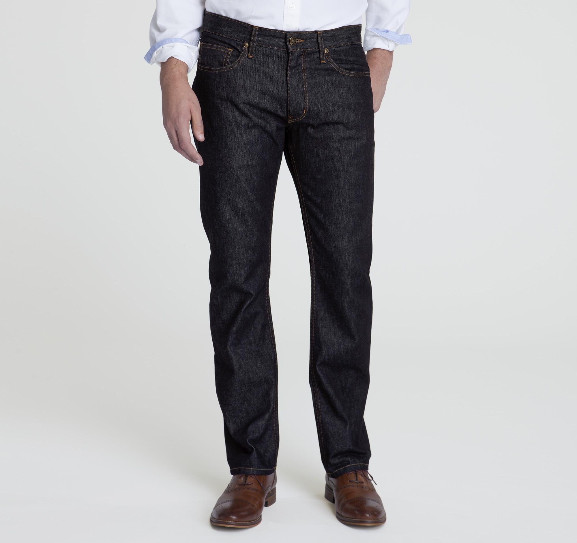 Johnston and Murphy ladies dark jeans size 4