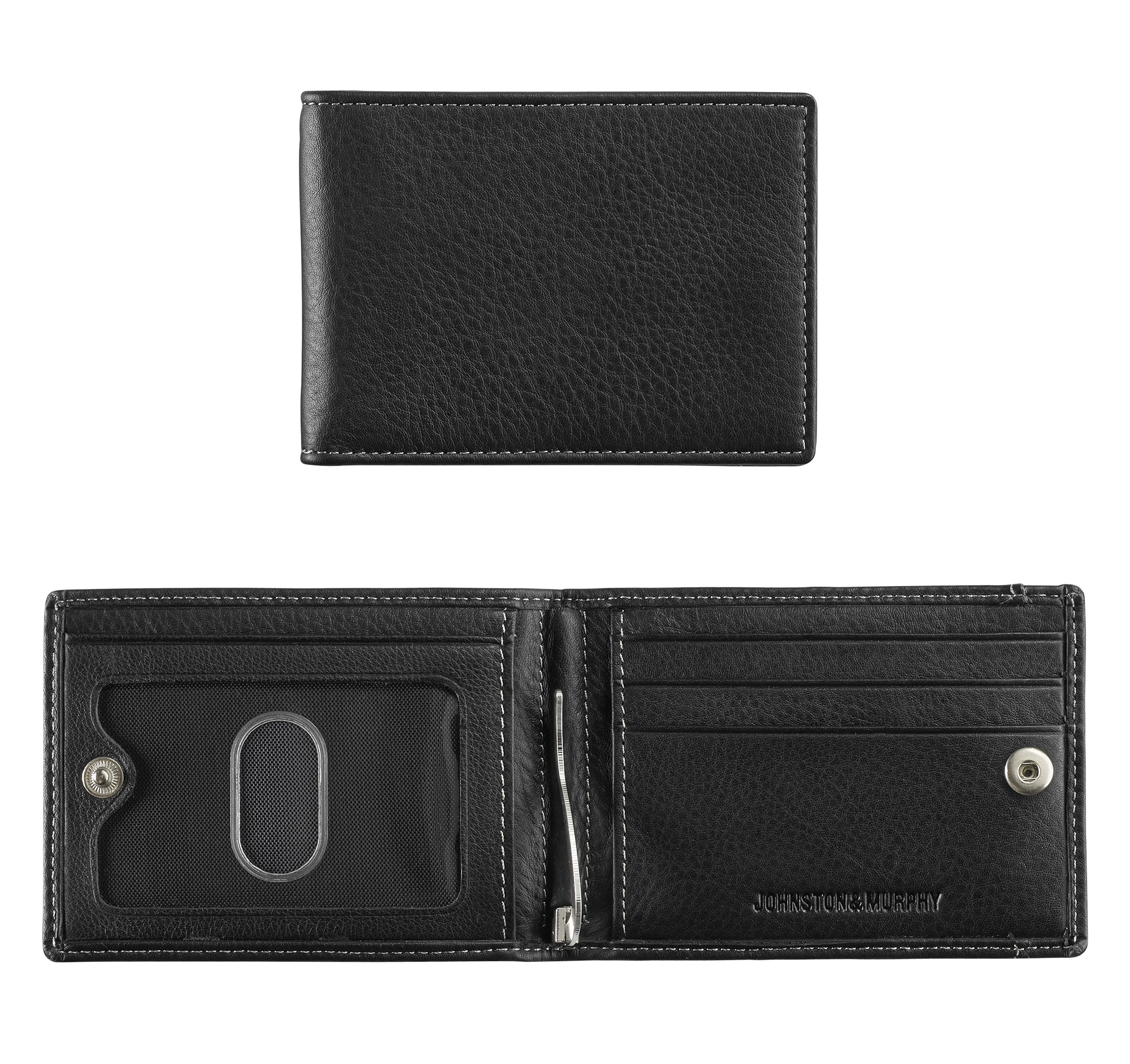 Johnston & Murphy Snap Bill Till Wallet