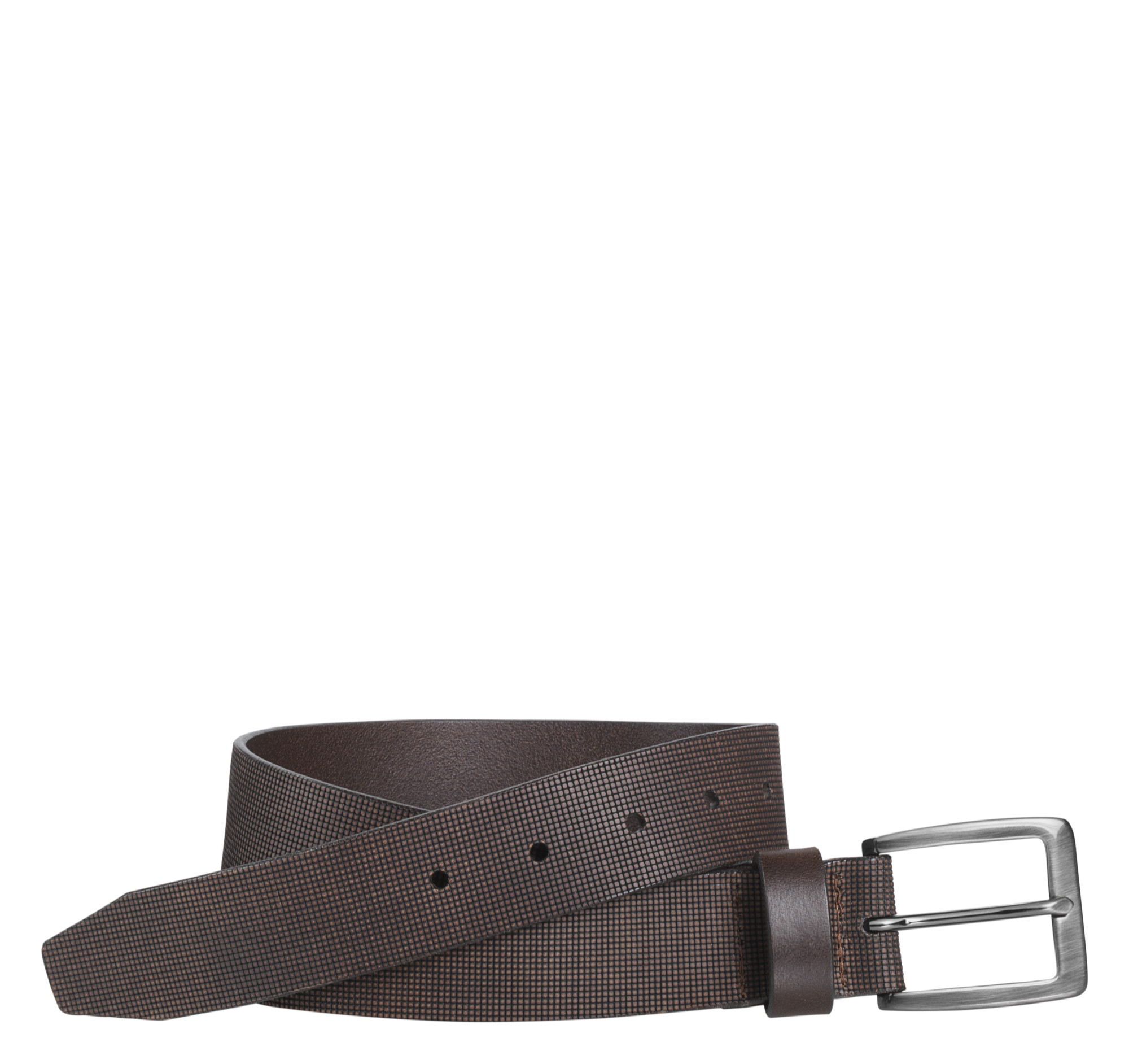 Johnston & Murphy Laser-Embossed Belt
