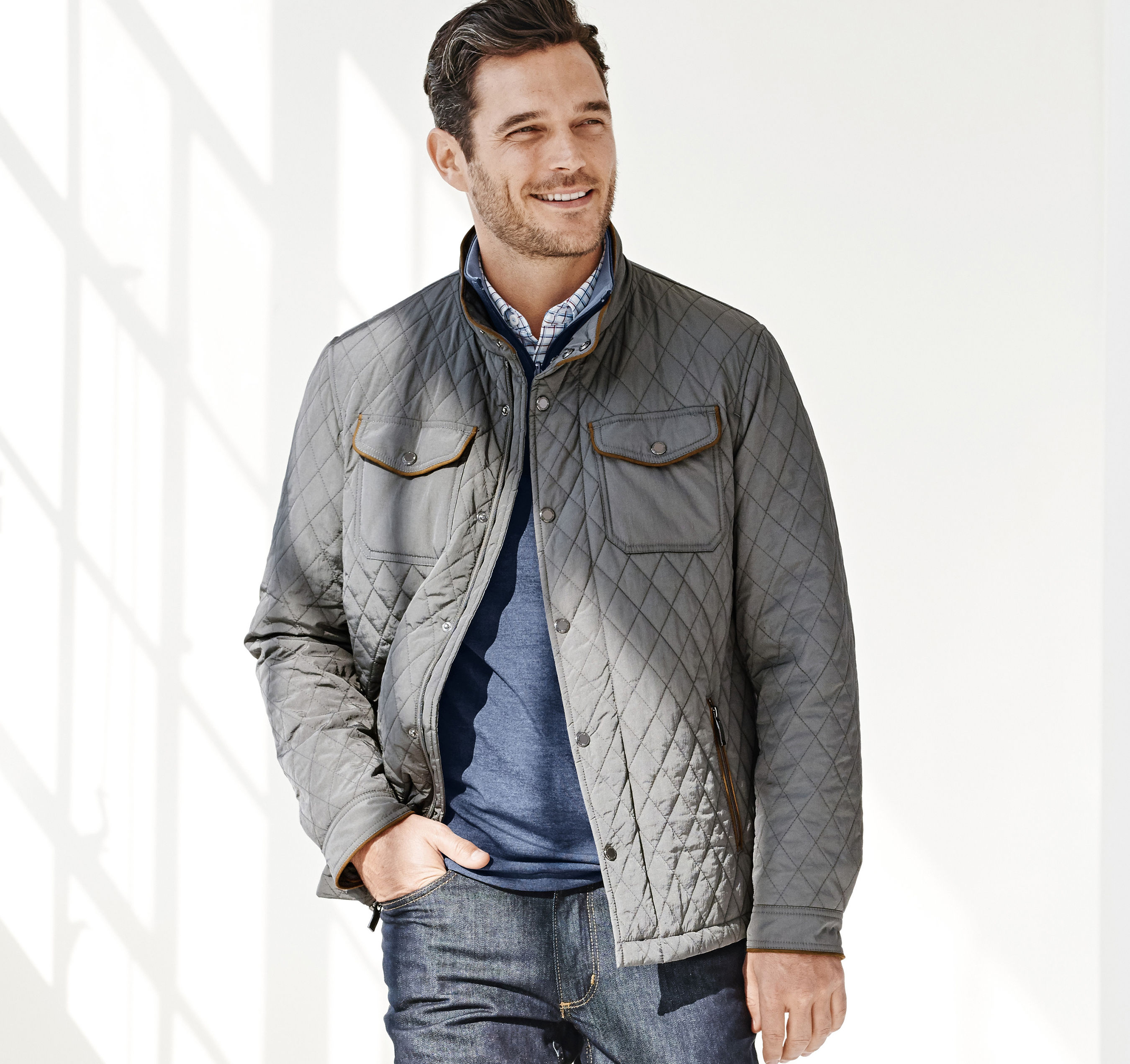 mens jacket hooded down quilted coats pl men of jackets hilfiger s tommy lathan i for house quilt and fraser