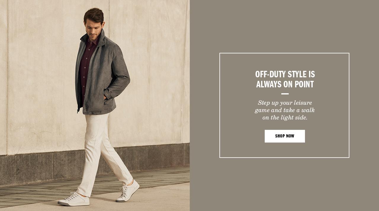Off-Duty Style is Always on Point - Shop Men's Sneaker Look