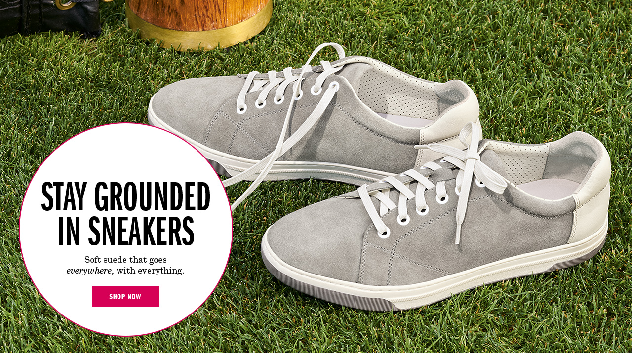 Stay Grounded in Sneakers
