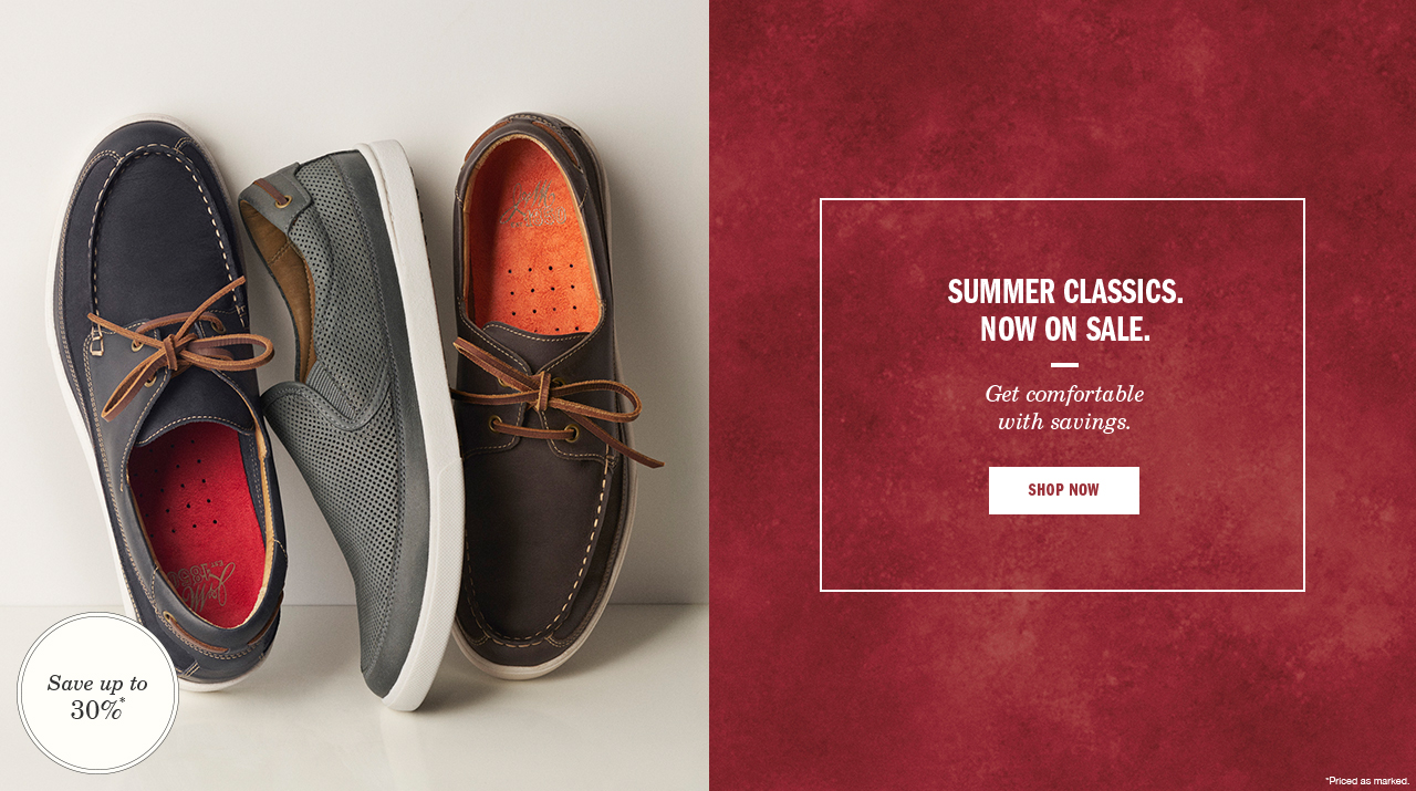 Summer Classics. Now on Sale.