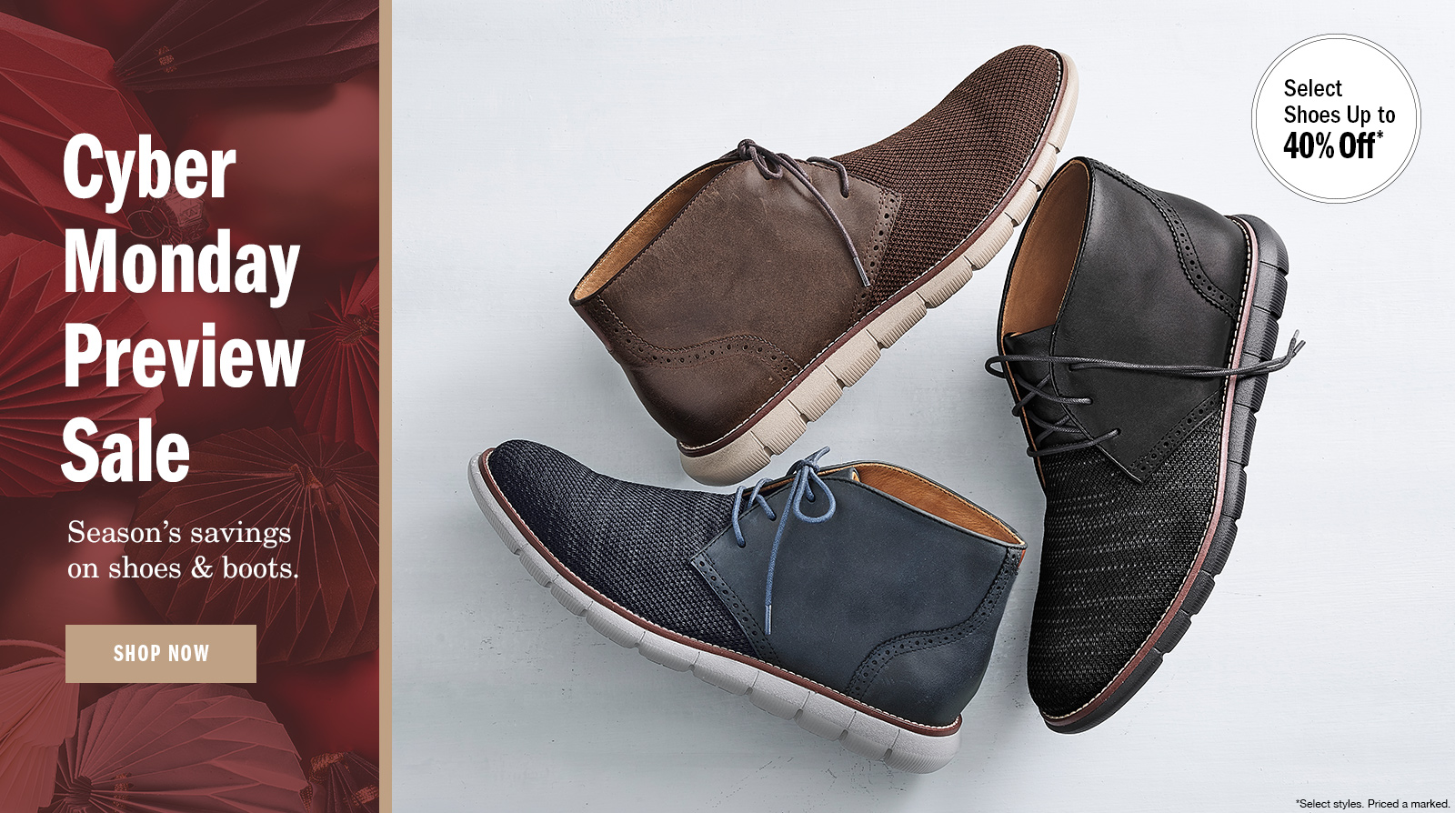 Black Friday Sale Men's Shoes