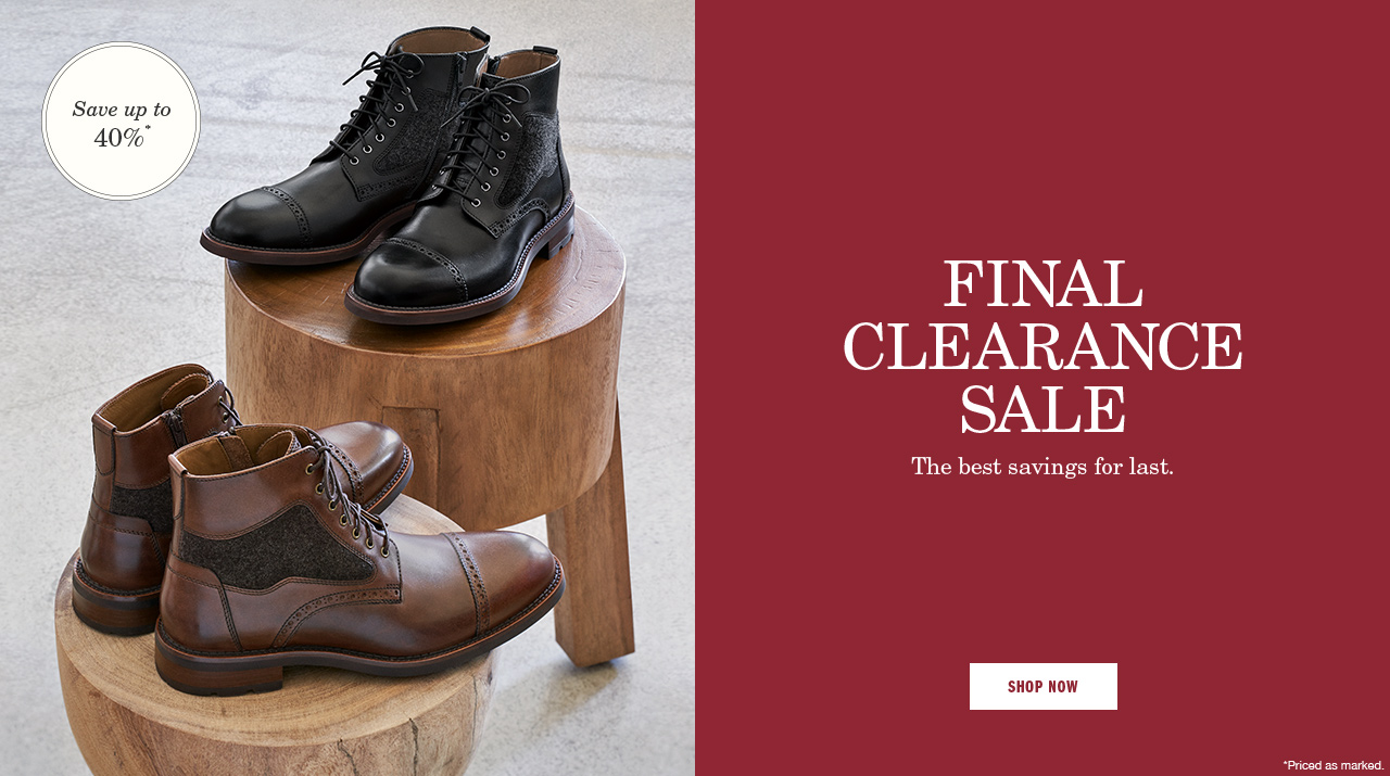 Final Clearance Sale Men