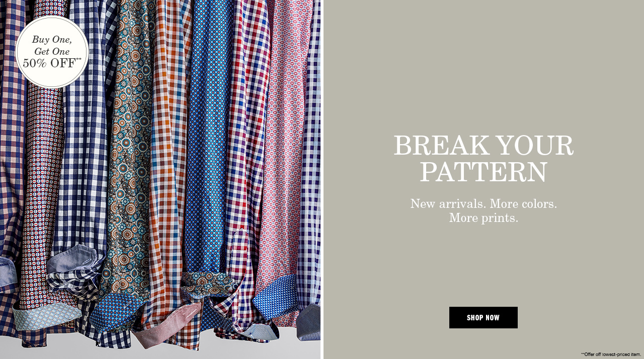 Break Your Pattern - Shop Now