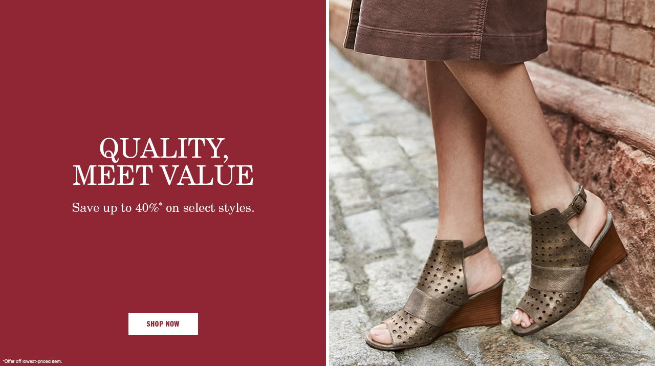 Quality Meet Value - Shop Now