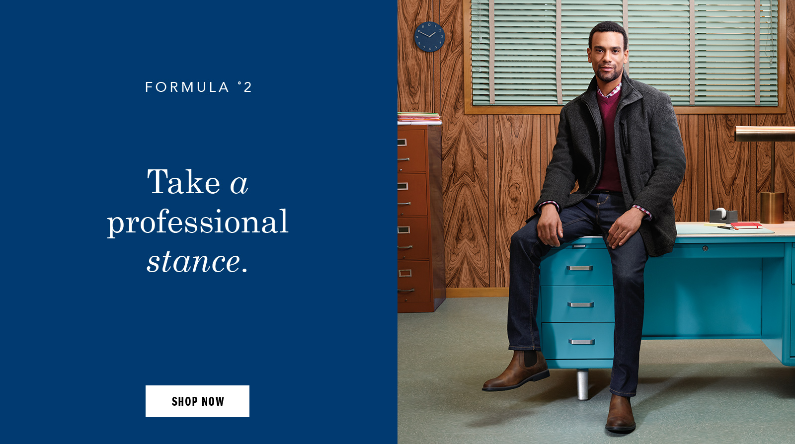 Take a professional stance - Shop Men's Boots and Apparel