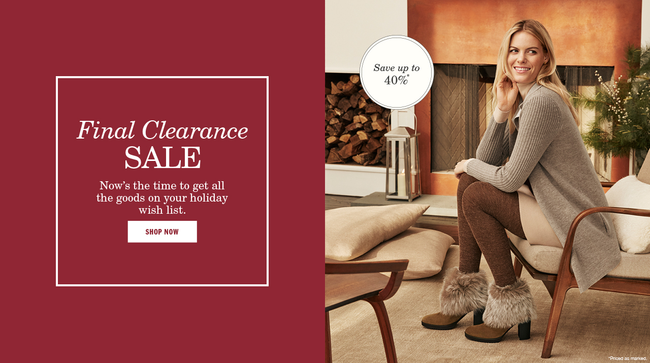 Clearance Sale Women - Shop Now