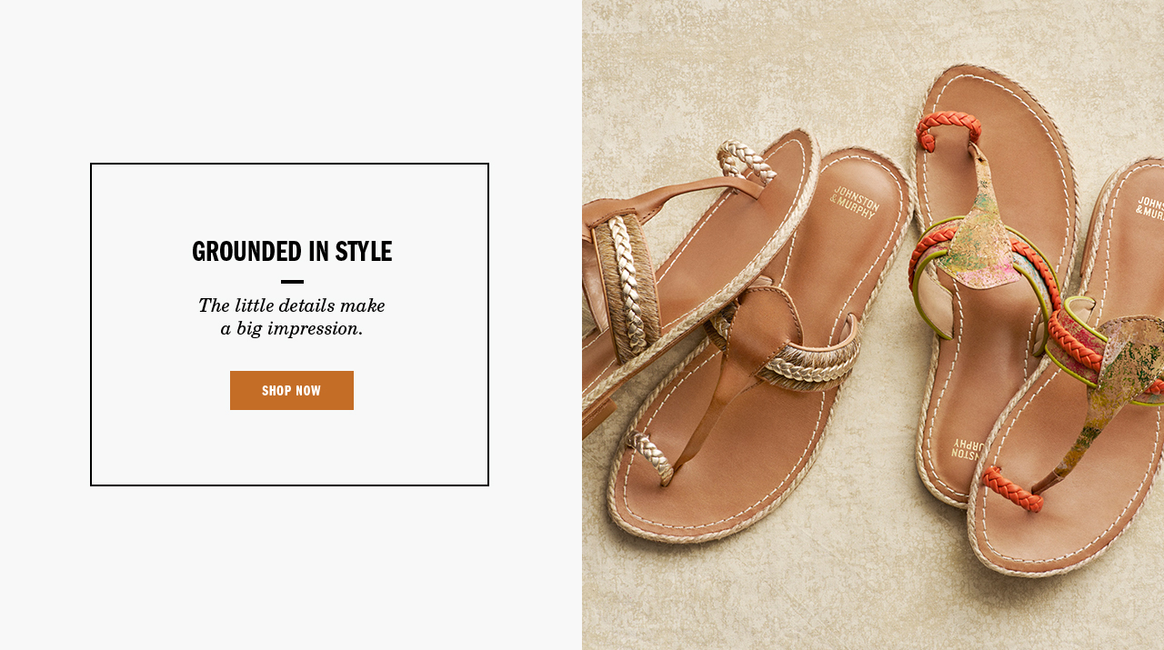 Grounded in Style - Shop Women's Sandals