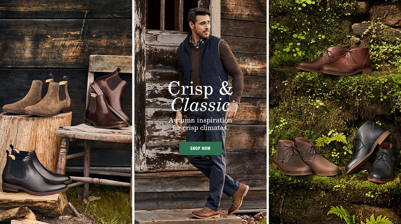 Crisp and Classic - Shop Now