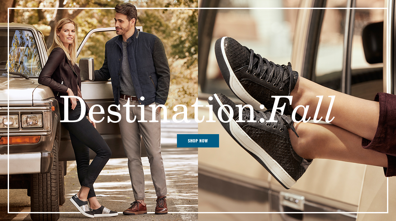 Destination: Fall - Shop Now