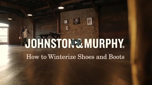 How to Winterize Shoes & Boots