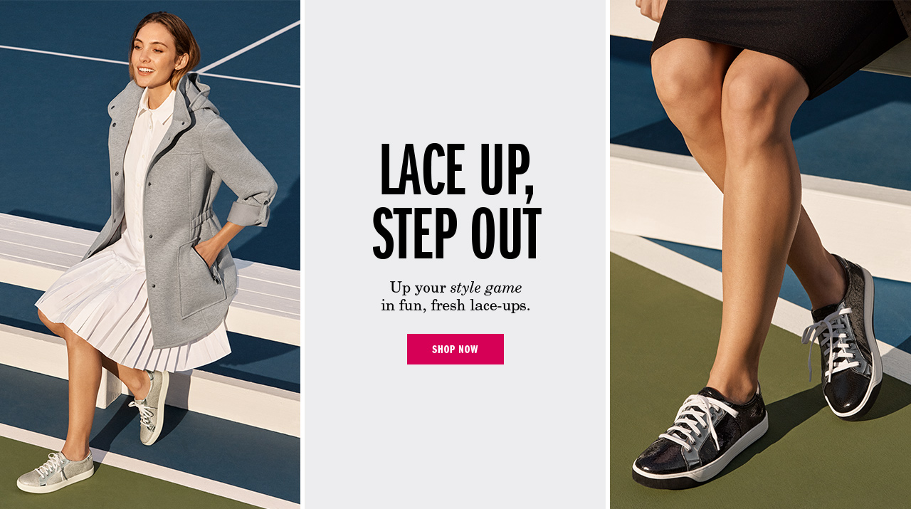 Lace Up, Step Out