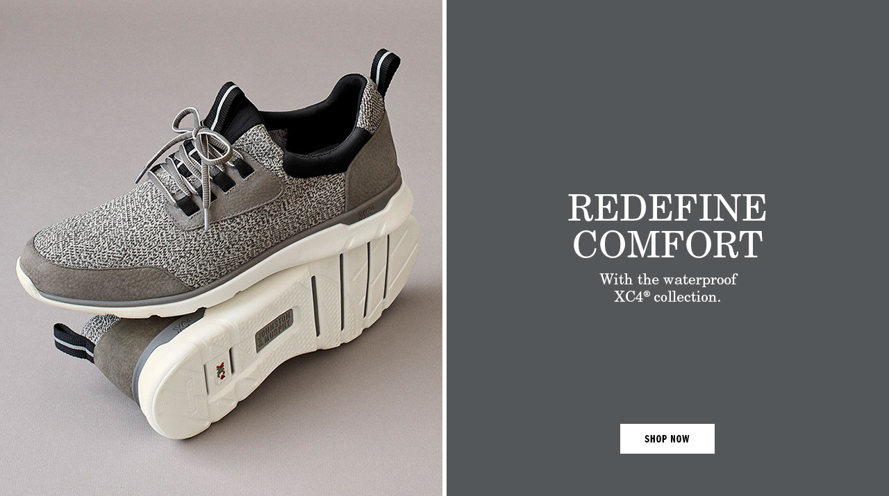 Redefine Comfort. With the waterproof XC4® collection.