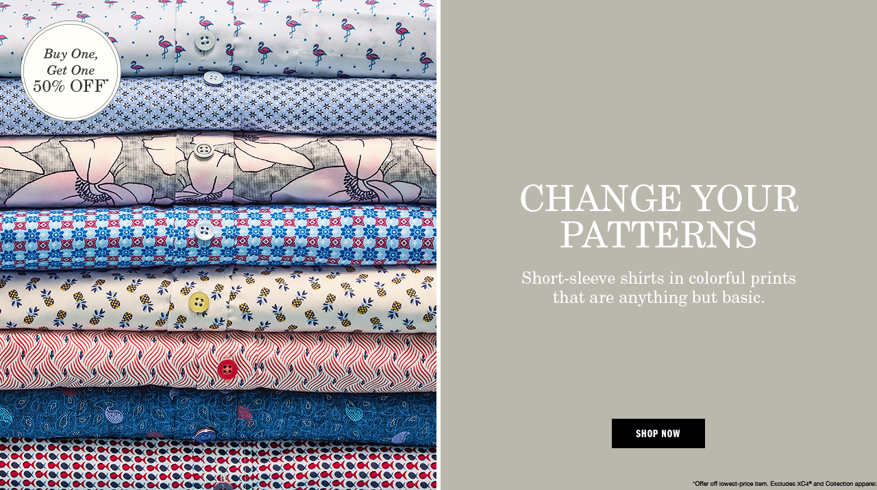 Change Your Patterns - Shop Now