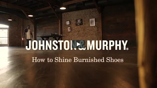 How to Shine Burnished Shoes