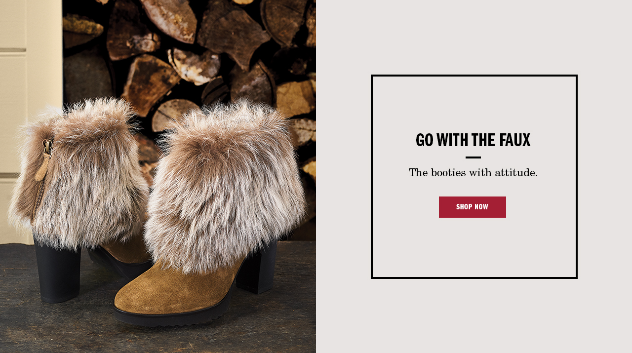 Go With the Faux - Shop Now