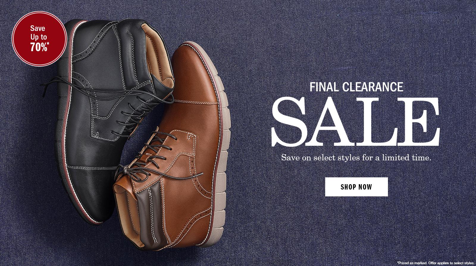 Shop Final Clearance Sale