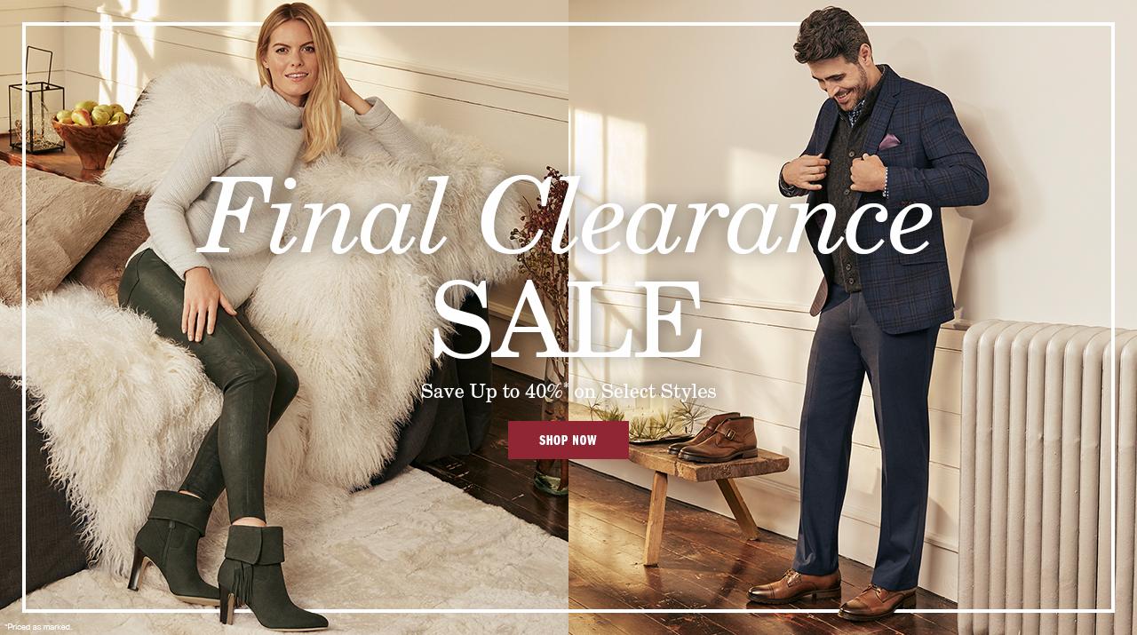 Final Clearance Sale - Shop Now