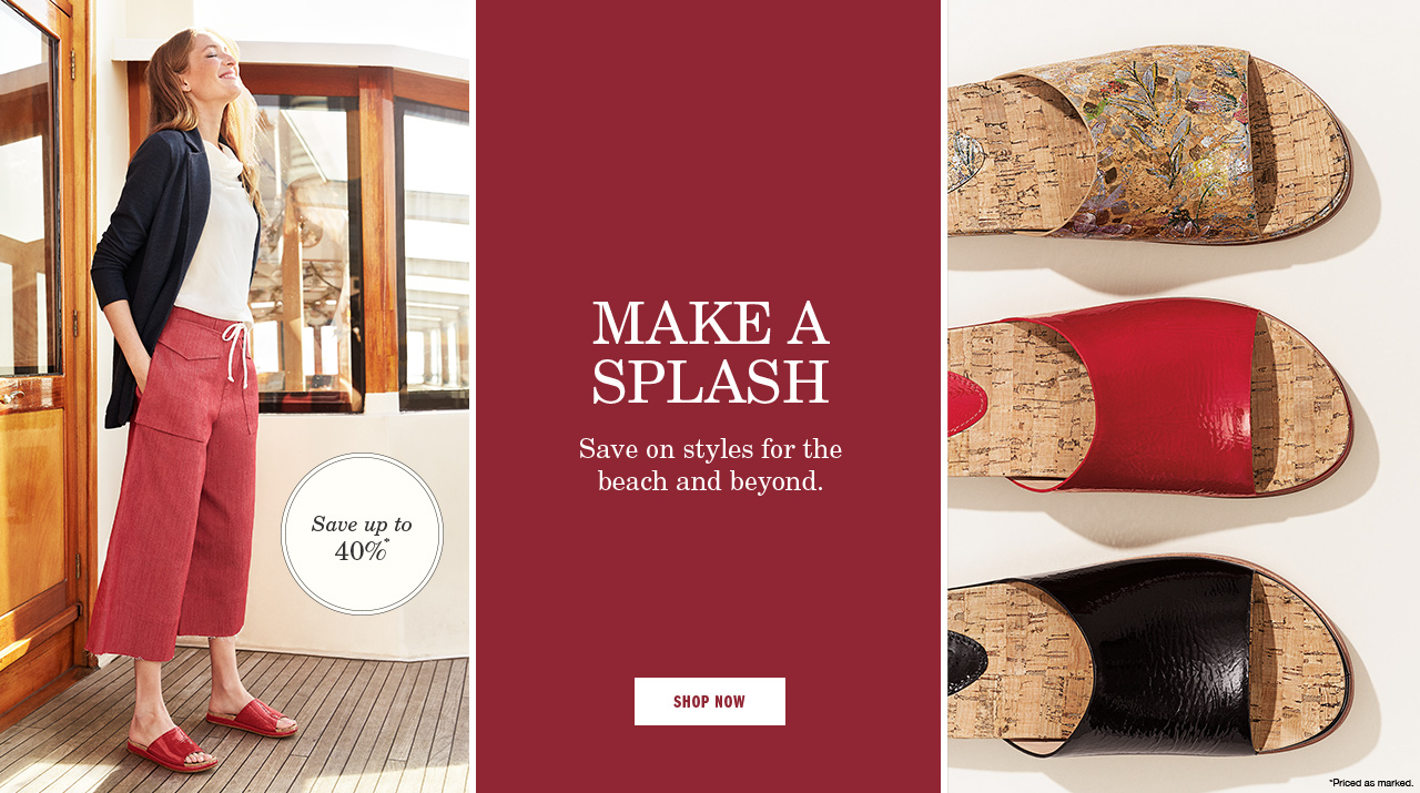 Make a Splash - Shop Now