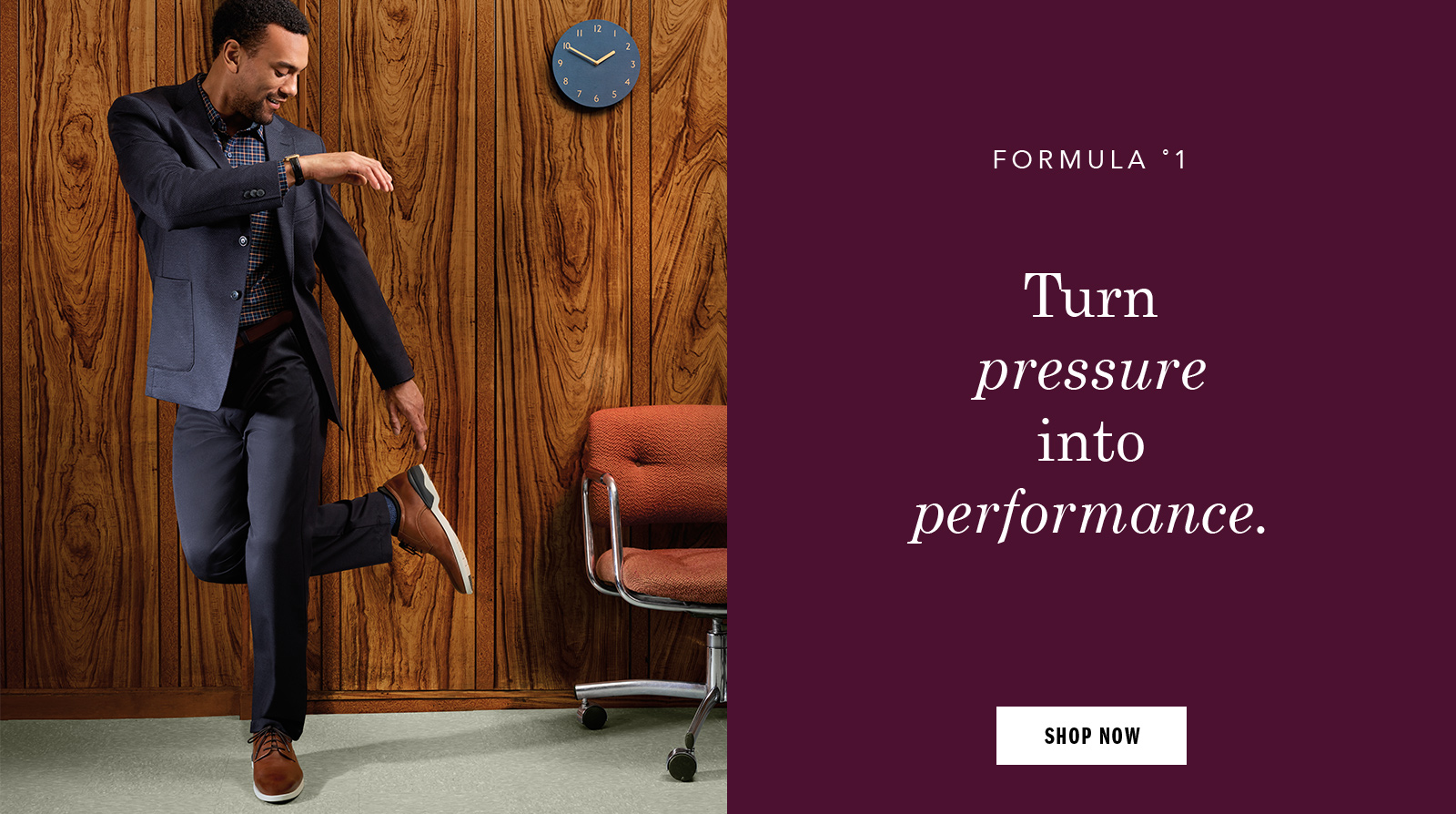 Turn pressure into performance - Shop Men's Shoes and Apparel