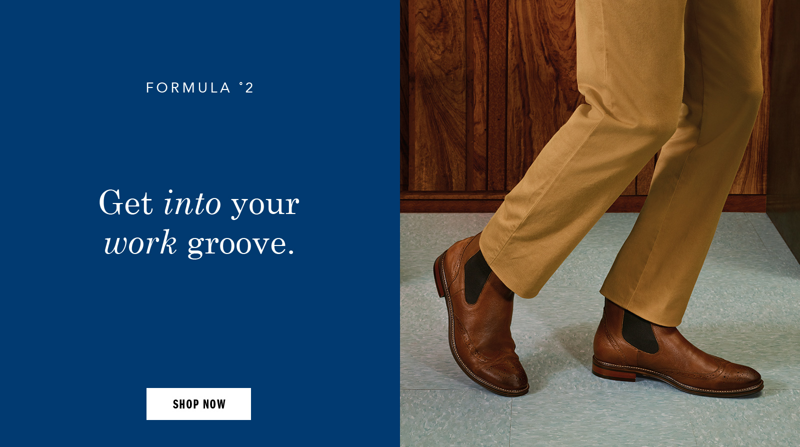 Get into your work groove - Shop Men's Boots