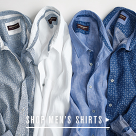 Men's Perfect Fit Linen Shirts