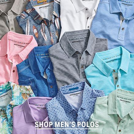 Shop Men's Vintage Slub Polos