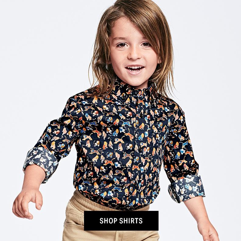 Shop Boys Shirts