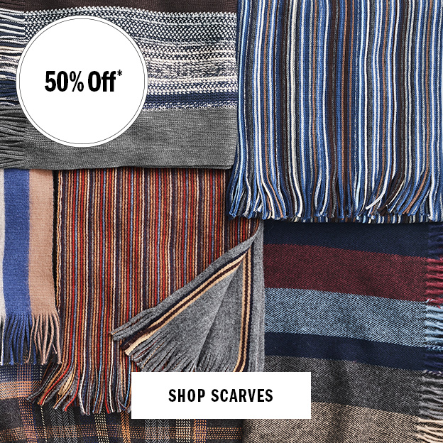 Shop Men's Scarves