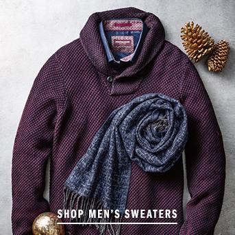 Men's Sweaters 40% Off