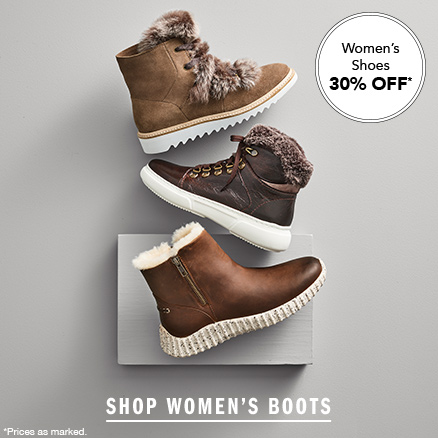 Women's Shoes 30% Off
