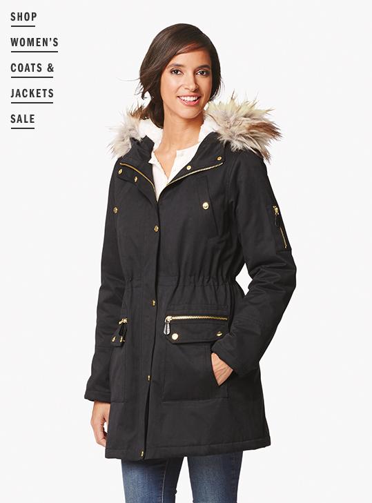 Shop Women's Sale Coats & Jackets