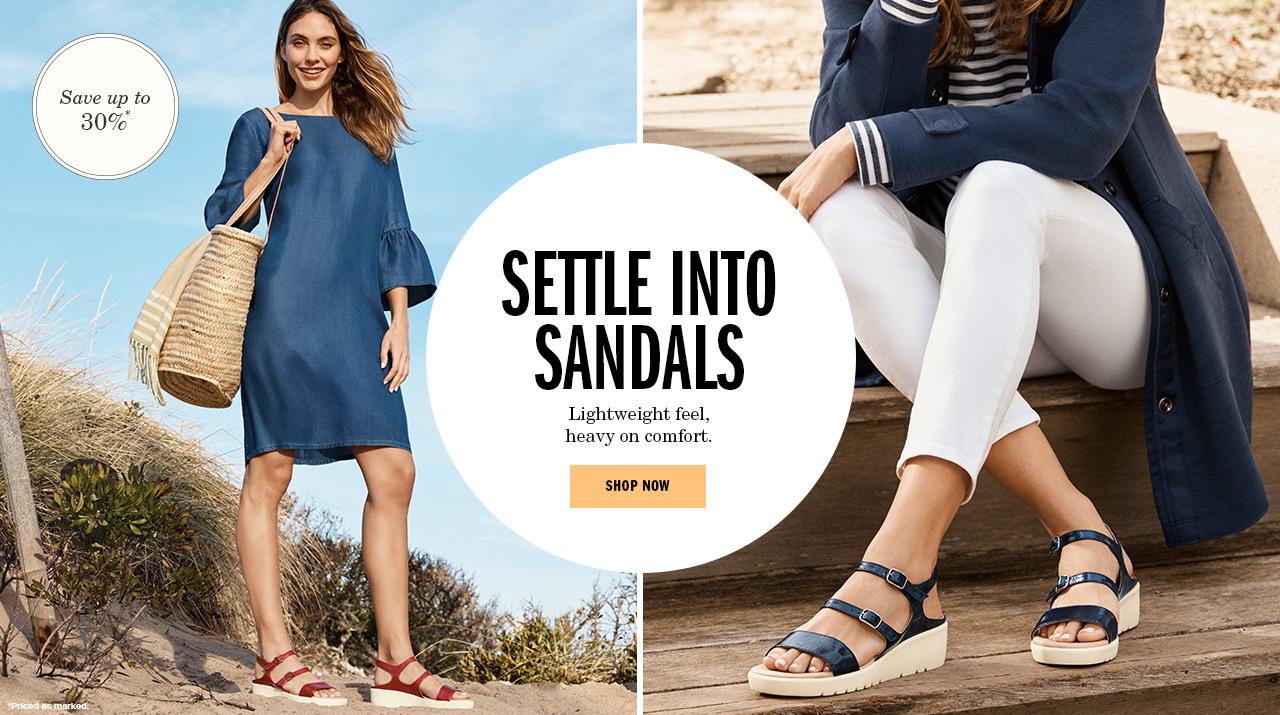 Settle Into Sandals