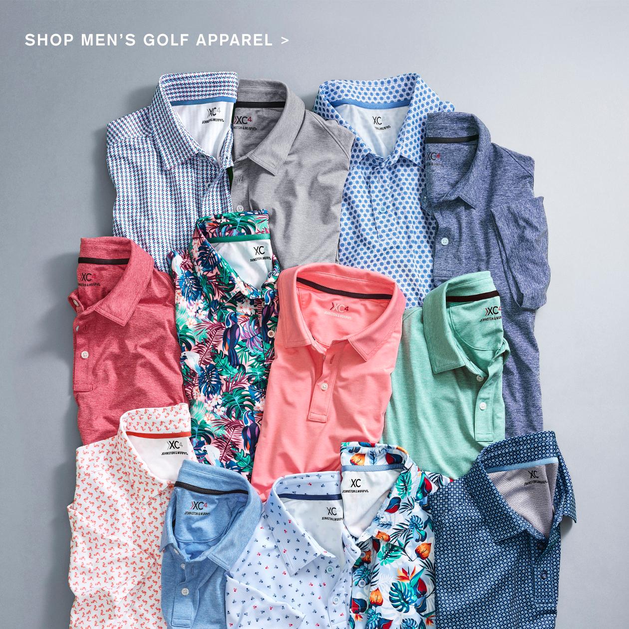 Shop Men's Golf Apparel