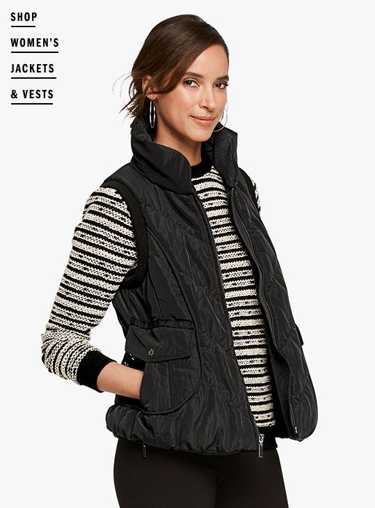 Shop Women's Jackets & Vests