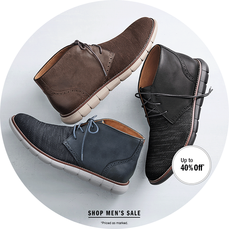 Select Shoes Up to 40% Off