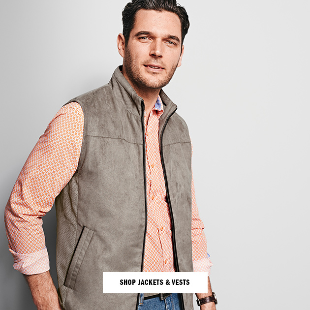 Shop Men's Jackets & Vests