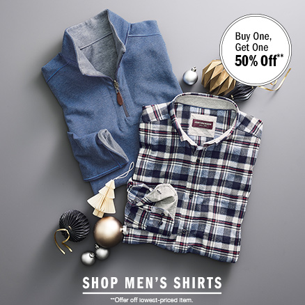 Men's Shirts and Sweaters