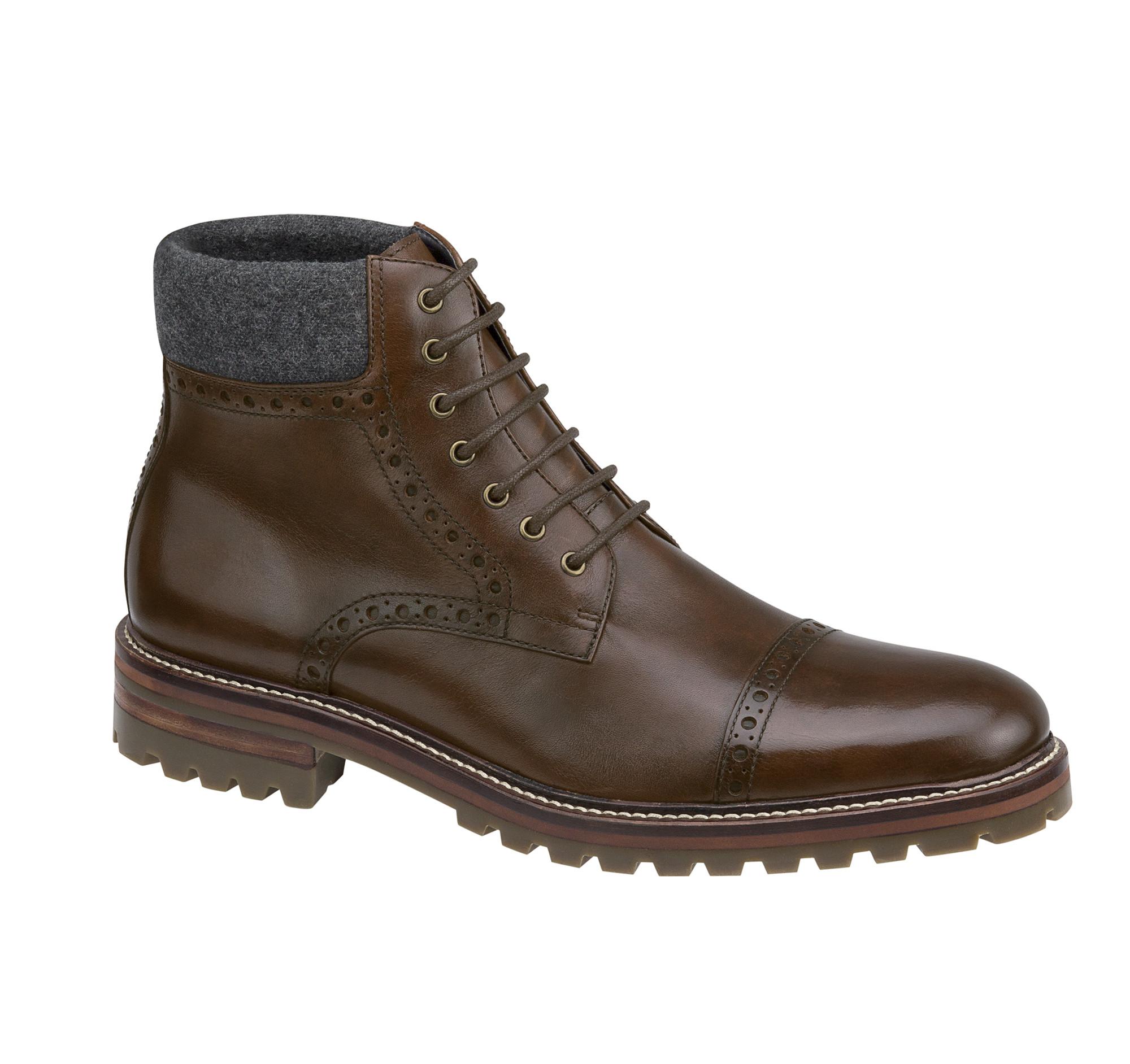 75593c23a21 Johnston And Murphy Karnes Boots ~ Mens Dress Sandals